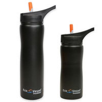 Eco Vessel Thermoses Summit Triple Insulated 17 fl. oz. Stainless Steel Bottle with Flip Straw SUM500GN