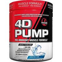 Image Sports - 4D PUMP - Intense Pre-Workout Formula - ARCTIC ICE