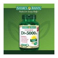 Nature's Bounty Vitamin D3 5000 IU, 600 Softgels Bounty -3dd8