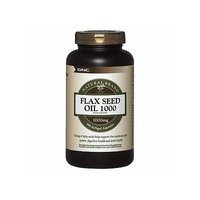 GNC Natural Brand Flax Seed Oil 1000, Softgel Capsules 90 ea