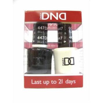 DND *Duo Gel* (Gel & Matching Polish) Fall Set 447 - Black Licorice