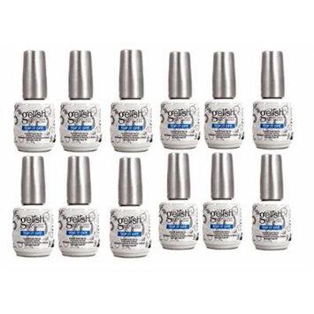 12) NEW Gelish Top It Off Coat for Gel LED UV Soak Off Nail Polish (15mL .5oz)