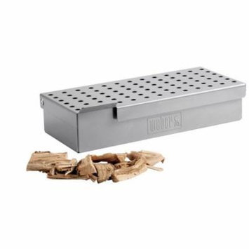 WEBER-STEPHEN PRODUCTS - Smoker Box, Stainless Steel, For Grates of Q200 Or Larger Grill