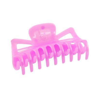 Woman Plastic Bath Hairclip Clamp Hair Claw Barrette Orchid