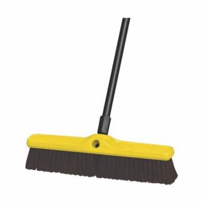 Rubbermaid Commercial Maroon Polypropylene Heavy Duty Floor Sweeps, 12 count