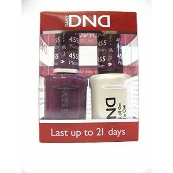 DND *Duo Gel* (Gel & Matching Polish) Fall Set 455 - Plum Passion
