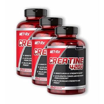 MET-Rx Creatine 4200 240 (Pack of 3)