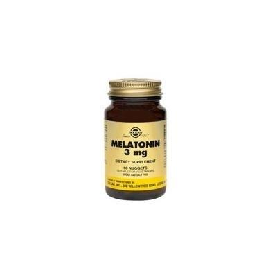 Solgar Melatonin, 120 Nuggets 3 mg (Pack of 2)