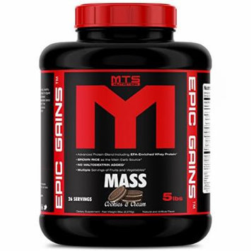 MTS Nutrition Epic Gains 5lb Mass Gainer - Cookies & Cream