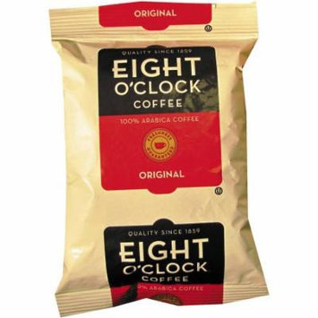 Eight O'Clock Original Regular Ground Coffee Fraction Packs, 2 oz, 42 count