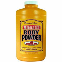 Personal Care 90341-8 10 oz. Medicated Body Powder, Pack of 12