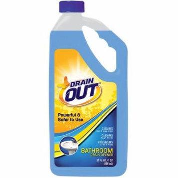 Drain Out Bathroom Drain Opener, 32 fl oz