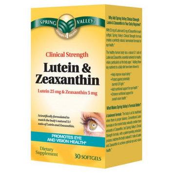 Wal-mart Stores, Inc. Spring Valley Lutein & Zeaxanthin Dietary Supplement, 30ct