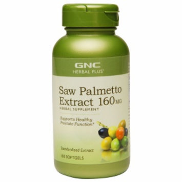 Gnc GNC Herbal Plus(r) Saw Palmetto Extract 160mg