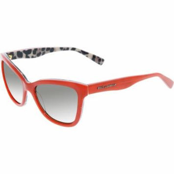 Dolce & Gabbana Girl's DG4237-288573-47 Red Butterfly Sunglasses