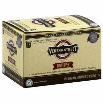 Verena Street Cow Tipper Single-Serve Brew Coffee Cups, 4.23 oz, (Pack of 6)