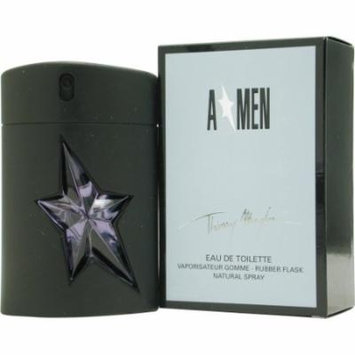 Angel Edt Spray Rubber Bottle 3.4 Oz For Men By Thierry Mugler
