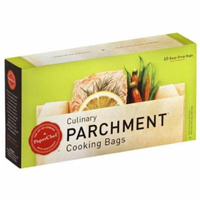 Paper Chef Culinary Parchment Cooking Bags, 10 count, (Pack of 12)