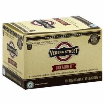 Verena Street Lock & Dam 11 Medium Single-Serve Brew Coffee Cups, 4.65 oz, (Pack of 6)