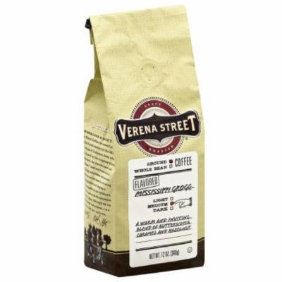Verena Street Mississippi Grogg Medium Ground Coffee, 12 oz, (Pack of 6)