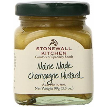 Stonewall Kitchen Maple Mustard Dip, 3.5 Ounce Jars (Pack of 24)