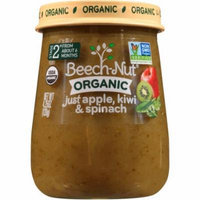 Beech-Nut Organic Naturals Stage 2 Just Apple, Kiwi & Spinach Baby Food, 4.25 oz, (Pack of 10)