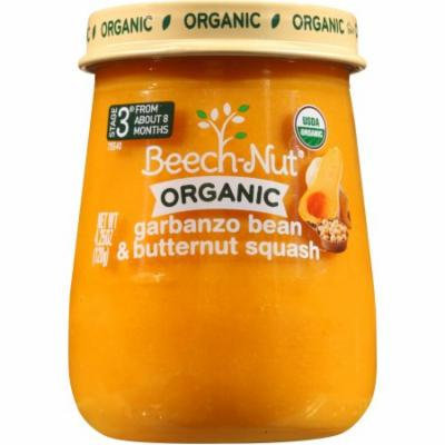Beech-Nut Organic Naturals Stage 3 Garbanzo Bean & Butternut Squash Baby Food, 4.25 oz, (Pack of 10)