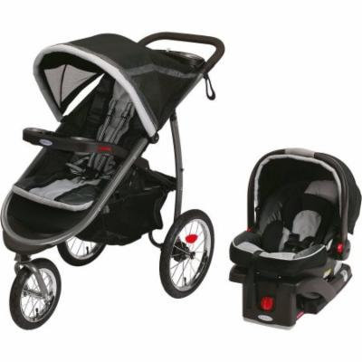 Graco FastAction Fold Jogger Click Connect Travel System Jogging Stroller, Gotham