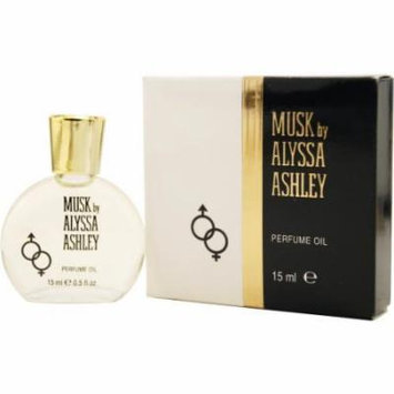 Alyssa Ashley Musk Perfume Oil .50 Oz By Alyssa Ashley