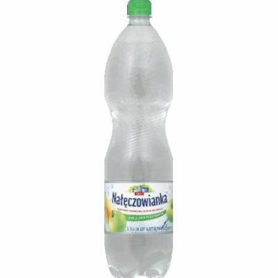 Nateczowianka Water Beverage, Sparkling, Apple and Pear Flavor