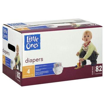 Kmart Corporation Little Ones Diapers, Large, Size 4 (22 37 lb), Club Pack, 82 diapers - KMART CORPORATION