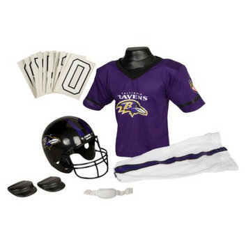 Franklin Sports NFL Ravens Deluxe Uniform Set - Small