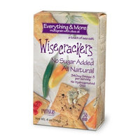 Partners Wisecrackers Everything and More Multigrain Crackers with Olive Oil, 4-Ounce (Pack of 6)