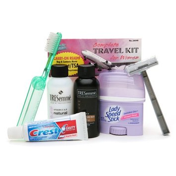 Handy Solutions Complete Travel Kit for Women - TSA Approved