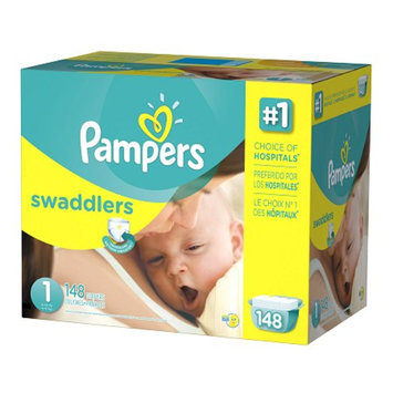 Pampers Swaddlers Diapers Size 1 Giant Pack