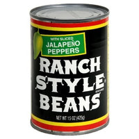 Ranch Style Beans Beans with Sliced Jalapeno Peppers, 15-ounces (Pack of24)