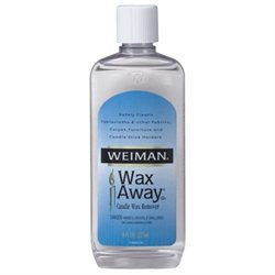 8 Ounce Candle Wax Remover 31 by Weiman