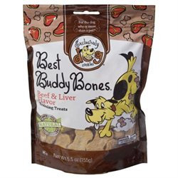 Exclusively Pet Inc Exclusively Pet Best Buddy Bones Beef Small 45000
