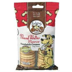 Exclusively Pet Sandwich Crme Dog Treats Peanut Butter 8 Ounces - 03500