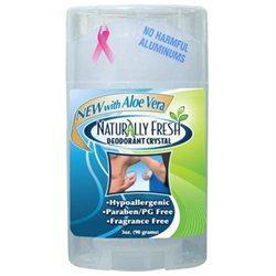Wide Stick Deodorant, 3 oz, Naturally Fresh Deodorant Crystal