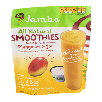 Jamba All Natural Smoothies Mango-a-go-go