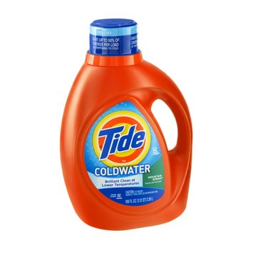Tide Coldwater Mountain Spring Liquid Laundry Detergent - 52 Loads
