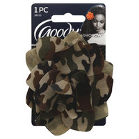 Goody Products Inc. FashioNow Camoflauge Flower, 1 CT