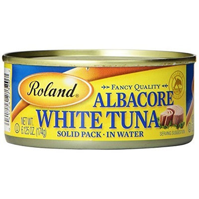 Roland Albacore White Tuna, 6.13-Ounce Cans (Pack of 6)