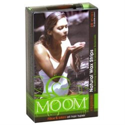 MOOM Express Wax Strips for Face & Bikini