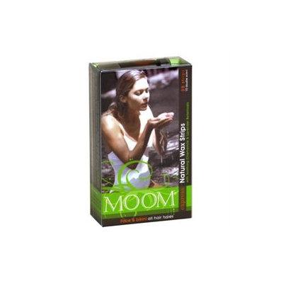 MOOM Express Wax Strips for Face & Bikini