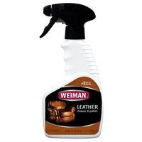 Weiman Leather Cleaner & Polish, Spray, 12 oz