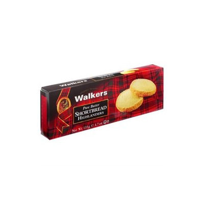 Walker's Shortbread Walkers Shortbread Pure Butter Shortbread, Highlanders, 4.7 oz