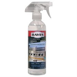 Bayes Stainless Steel BBQ Cleaner & Protectant, 16 oz