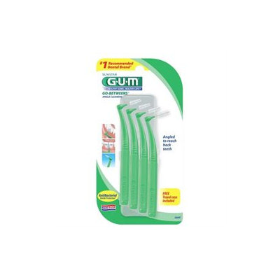 G-U-M Go-Betweens Angle Cleaners for Tight Teeth, 874R, 4 ea